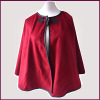 New Expensive Fan-Shaped Wool Cape Shawl