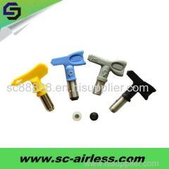 OEM Services!Grey/Black/Yellow/Blue Airless paint sprayer tip/spray tip/spray nozzle