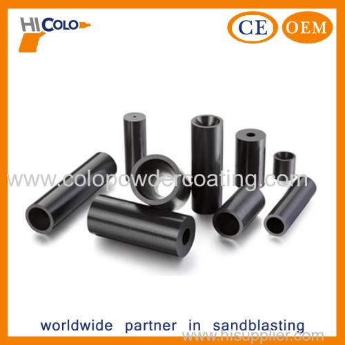 Boron carbide sand blasting spray nozzle
