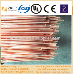copper clad low carbon steel ground rod