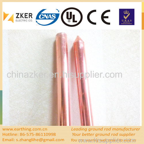 copper clad earth rod price