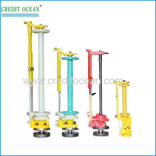Spindles of braiding machine