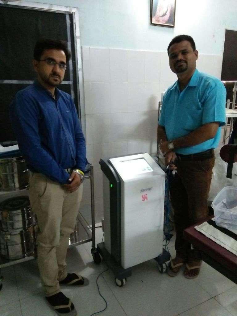 New dealer Mr. Sharma got BEIM Training  in Nagpur India