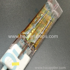 twin tube quartz infrared heating lamps for paint curing