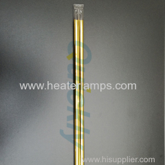 1500 golden reflector quartz heater