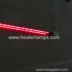 Calentador de cuarzo de radiación infrarroja