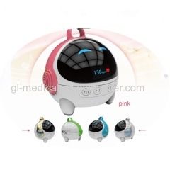 Portable baby fetal heart rate monitor
