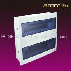 Flush type Power PC Distribution Box/Distribution board 24-40ways