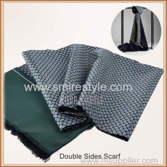 Fall and Winter Fashion Long Soft Warm Double Face Shawls and Scarves for Men