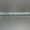 Transparent twin tube quartz emitter