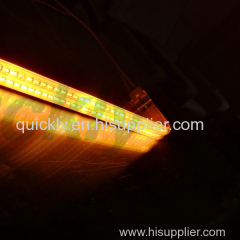 Quartz clear tubular IR heater for drying