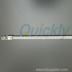 Quartz Infrared Electric Heating Elements with white reflector