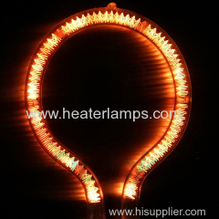 short wave infrared heater lamp