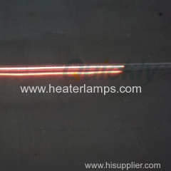 quartz tube infrared heating elements