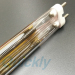 golden reflector medium wave quartz heating tube