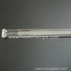 1100mm length quartz tube heater for textile dyeing machine