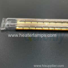 golden reflector quartz tube heater