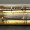gold coating short wave infrared heater lamps for paint curing