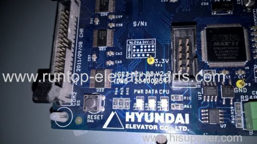 Elevator PCB IGC3 MCU BD V2.2 for Hyundal eievator
