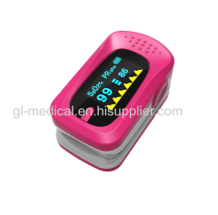 Finger Pulse Oximeter Portable FDA Approved Digital Blood Oxygen and Pulse Sensor Meter with Alarm SPO2