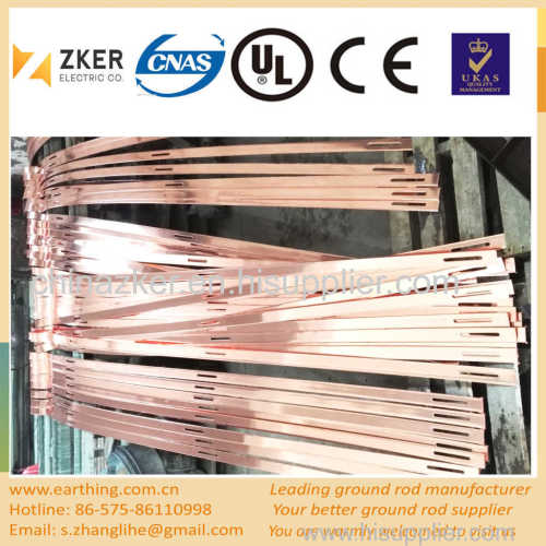 special shape copper coated flat bar