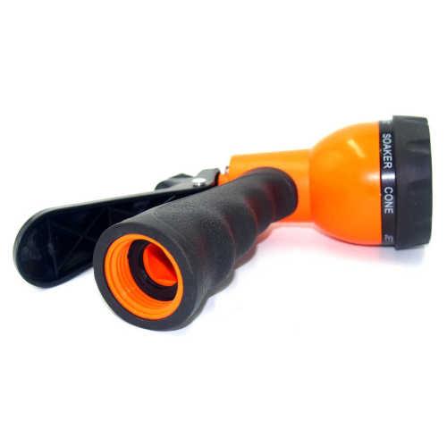 Plastic 8 pattern garden water spray gun