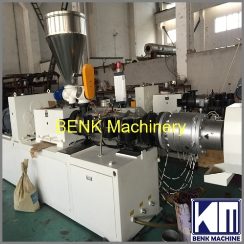 160mm PVC sewage pipe extrusion line