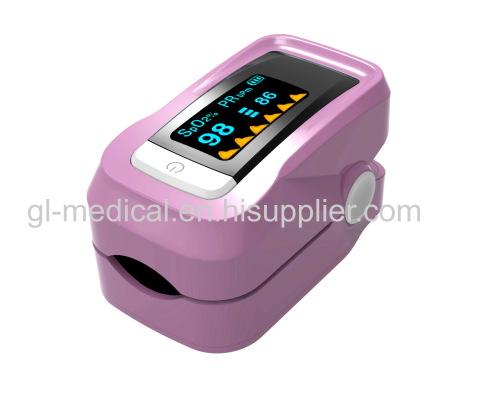 Digital Blood Oxygen and Pulse Sensor Meter with Alarm