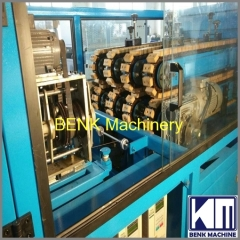 PVC Pipe Production Machine with four cavities extrusion die