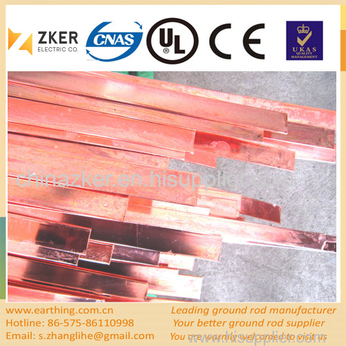 copper sheet steel flat tape