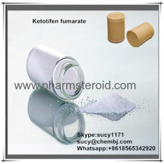 Pharmaceutical Raw MaterialsOff-White Solid Ketotifen fumarate CAS:34580-14-8 As antiallergic