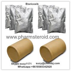 Pharmacetuical Raws Etoricoxib CAS:202409-33-4 Treating Rheumatoid Arthritis