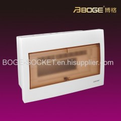 Flush type Power PC Distribution Box/Distribution board 4-40ways