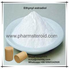 Antiestrogen Raw Steroids Ethynyl Estradiol CAS:57-63-6 As Oral Contraceptive