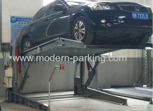 Simple household auto parking system