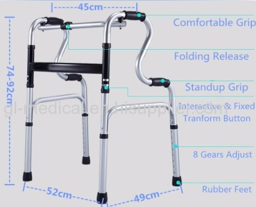 Therapy & Rehabilitation walking aid Walker Rollator