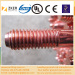 copper clad low carbon steel grounding rod