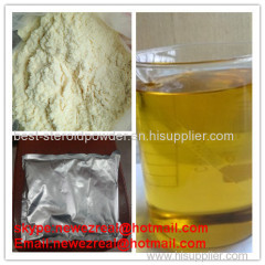 Trenbolone Enanthate CAS: 10161-33-8 Trenbolone series body building yellow crystalline powder