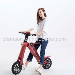 Automatic Electric Foldable scoot e bike