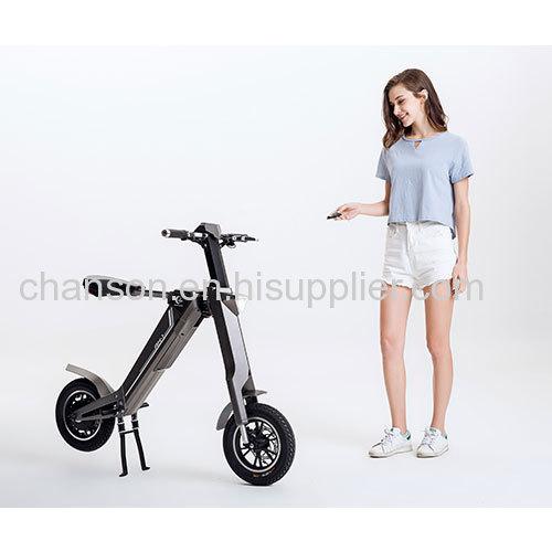 Automatic Smart Folding moped