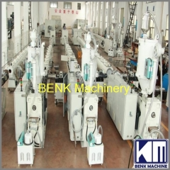 16-110mm high speed PE pipe production line
