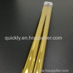 Textile printing medium wave quartz infrared lamps