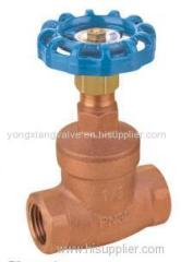 THREADED BRONZE GLOBE VALVE