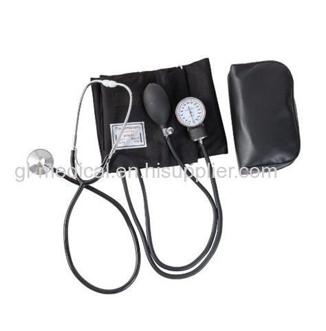 Manual aneroid sphygmomanometer bp apparatus