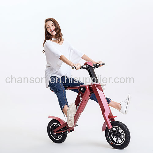 Smart Automatic Folding Electric motorcycle