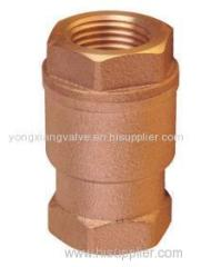 BRONZE LIFT CHECK VALVE