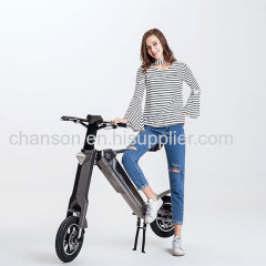 Automatic foldable electric scooter for adults