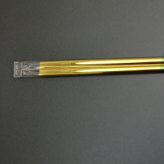 gold coating quartz tube heater