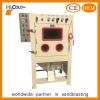 Automatic drum sand blasting machine