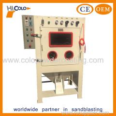 Automatic drum sand blasting machine